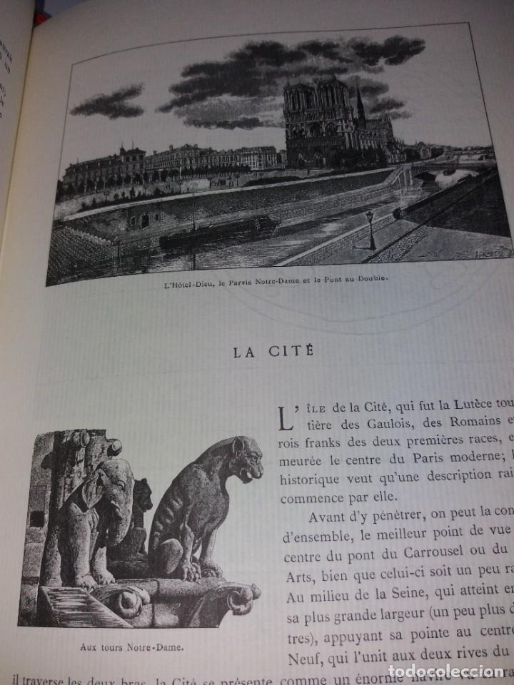 Libros: EXTRAORDINARIO Y BELLO LIBRO SOBRE EL PARIS DEL SIGLO XIX AÑOS 70´S - Foto 77 - 242225945