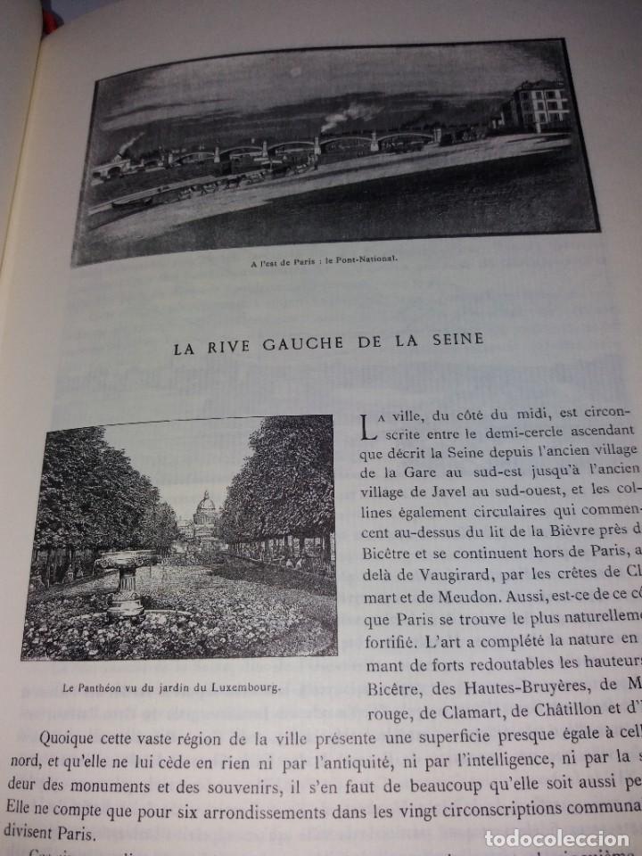 Libros: EXTRAORDINARIO Y BELLO LIBRO SOBRE EL PARIS DEL SIGLO XIX AÑOS 70´S - Foto 99 - 242225945
