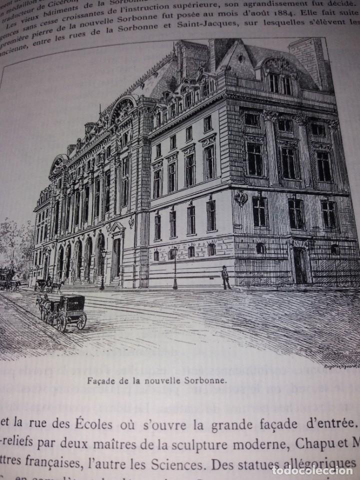 Libros: EXTRAORDINARIO Y BELLO LIBRO SOBRE EL PARIS DEL SIGLO XIX AÑOS 70´S - Foto 102 - 242225945