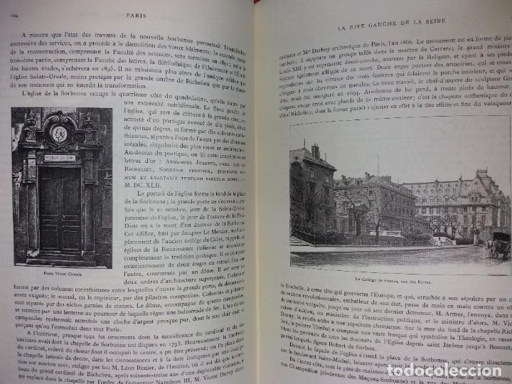 Libros: EXTRAORDINARIO Y BELLO LIBRO SOBRE EL PARIS DEL SIGLO XIX AÑOS 70´S - Foto 103 - 242225945