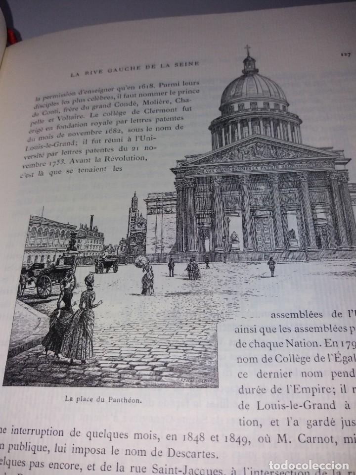 Libros: EXTRAORDINARIO Y BELLO LIBRO SOBRE EL PARIS DEL SIGLO XIX AÑOS 70´S - Foto 104 - 242225945