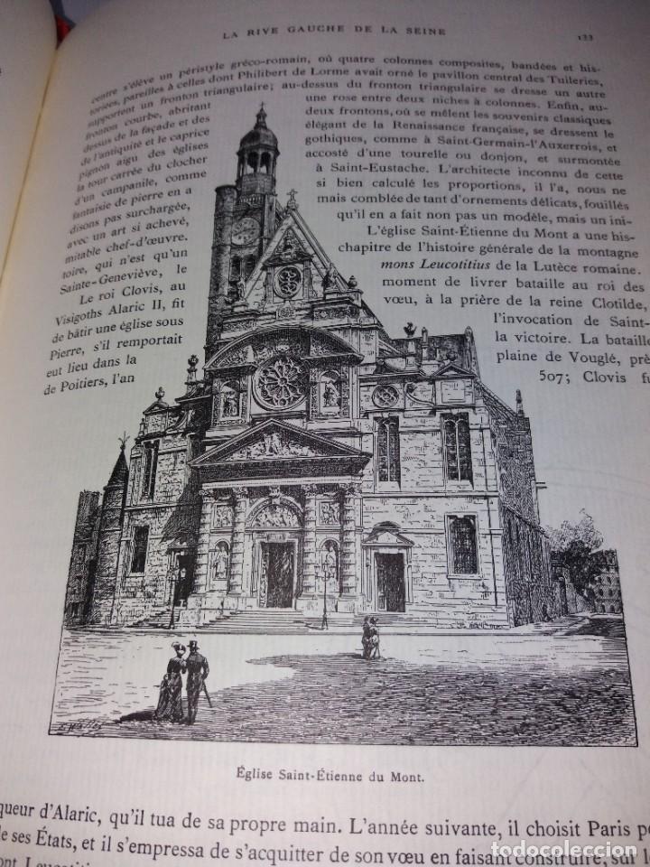 Libros: EXTRAORDINARIO Y BELLO LIBRO SOBRE EL PARIS DEL SIGLO XIX AÑOS 70´S - Foto 105 - 242225945