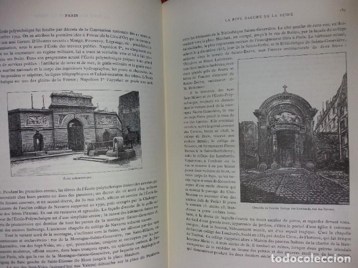 Libros: EXTRAORDINARIO Y BELLO LIBRO SOBRE EL PARIS DEL SIGLO XIX AÑOS 70´S - Foto 107 - 242225945
