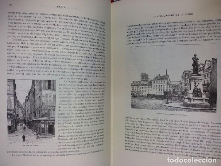 Libros: EXTRAORDINARIO Y BELLO LIBRO SOBRE EL PARIS DEL SIGLO XIX AÑOS 70´S - Foto 108 - 242225945