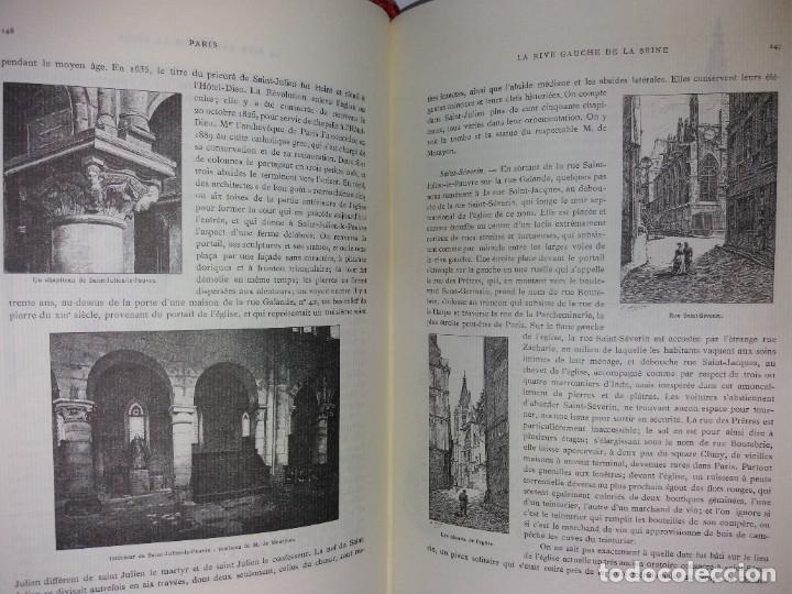 Libros: EXTRAORDINARIO Y BELLO LIBRO SOBRE EL PARIS DEL SIGLO XIX AÑOS 70´S - Foto 110 - 242225945
