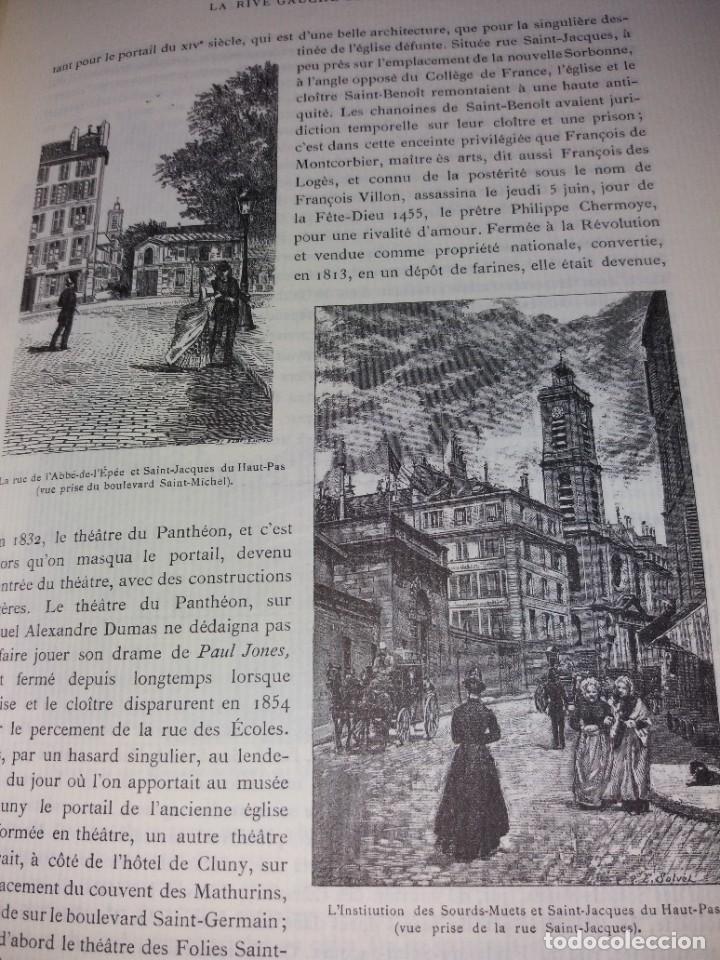 Libros: EXTRAORDINARIO Y BELLO LIBRO SOBRE EL PARIS DEL SIGLO XIX AÑOS 70´S - Foto 116 - 242225945