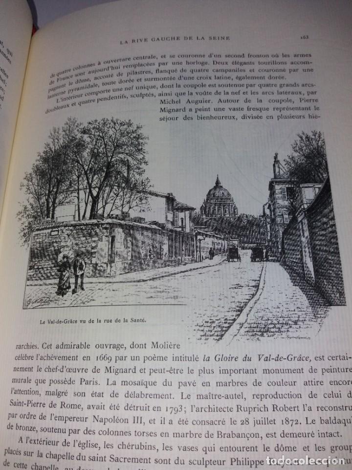 Libros: EXTRAORDINARIO Y BELLO LIBRO SOBRE EL PARIS DEL SIGLO XIX AÑOS 70´S - Foto 118 - 242225945