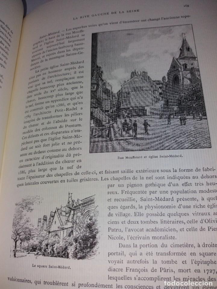 Libros: EXTRAORDINARIO Y BELLO LIBRO SOBRE EL PARIS DEL SIGLO XIX AÑOS 70´S - Foto 121 - 242225945