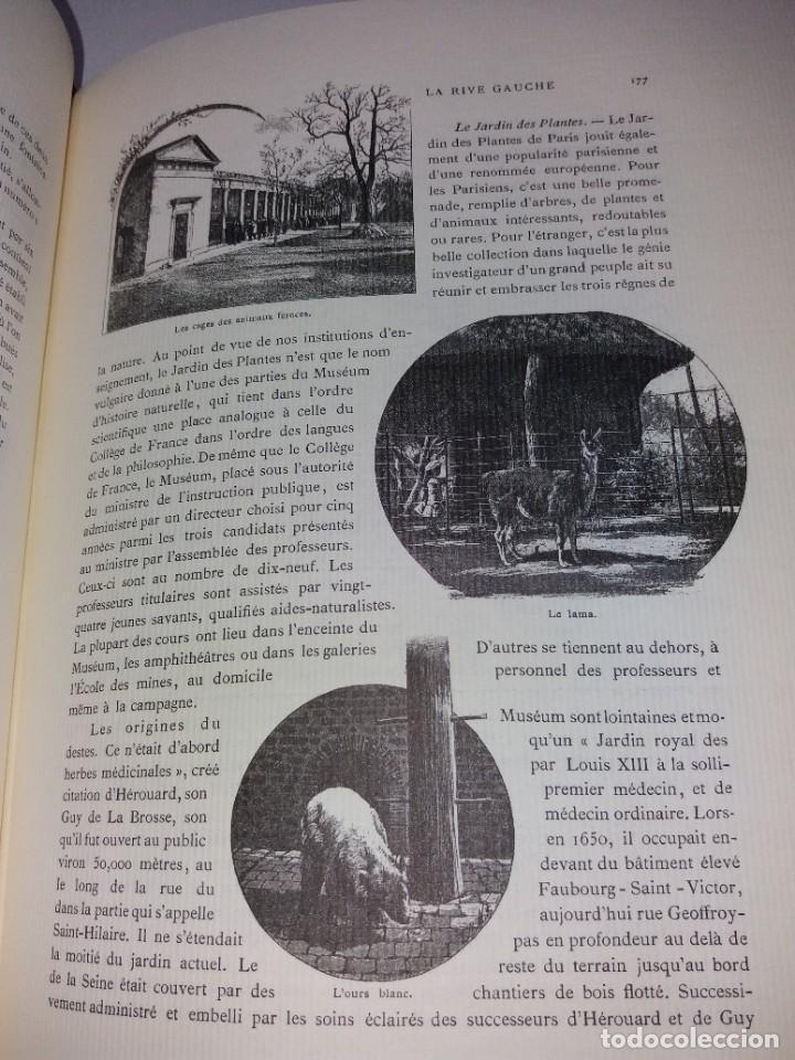 Libros: EXTRAORDINARIO Y BELLO LIBRO SOBRE EL PARIS DEL SIGLO XIX AÑOS 70´S - Foto 124 - 242225945