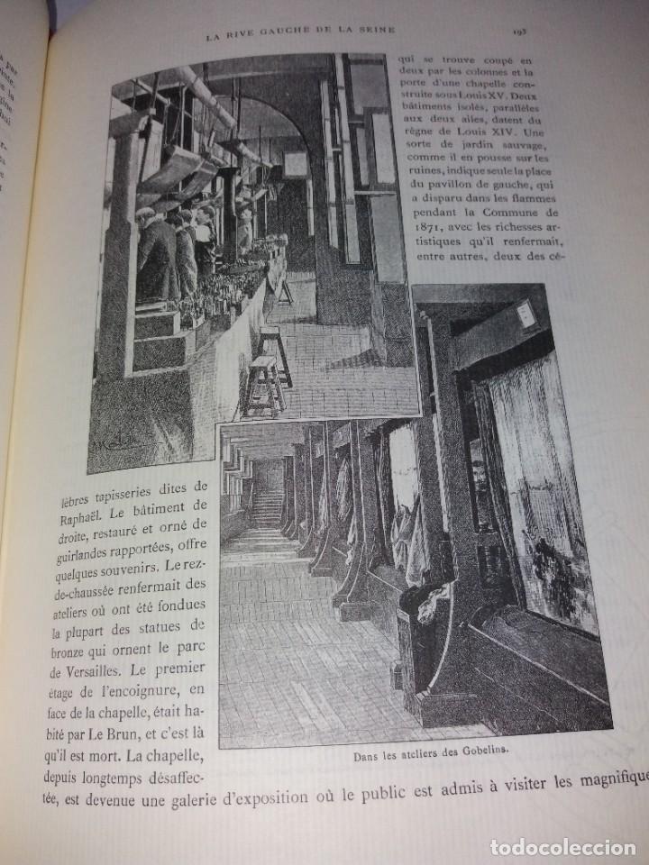 Libros: EXTRAORDINARIO Y BELLO LIBRO SOBRE EL PARIS DEL SIGLO XIX AÑOS 70´S - Foto 132 - 242225945