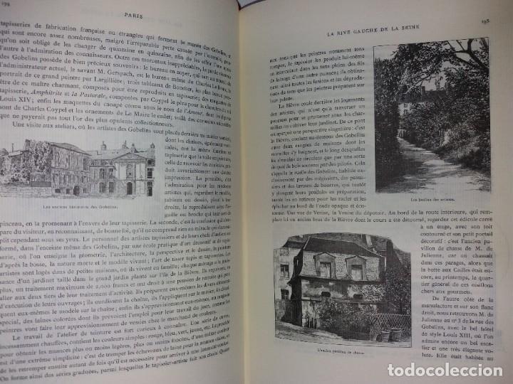 Libros: EXTRAORDINARIO Y BELLO LIBRO SOBRE EL PARIS DEL SIGLO XIX AÑOS 70´S - Foto 133 - 242225945