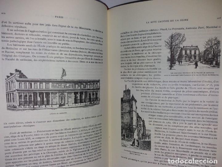 Libros: EXTRAORDINARIO Y BELLO LIBRO SOBRE EL PARIS DEL SIGLO XIX AÑOS 70´S - Foto 139 - 242225945