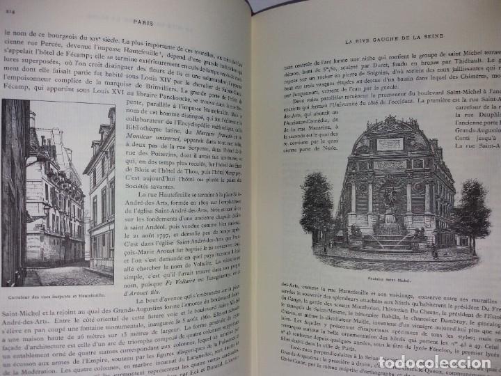 Libros: EXTRAORDINARIO Y BELLO LIBRO SOBRE EL PARIS DEL SIGLO XIX AÑOS 70´S - Foto 140 - 242225945