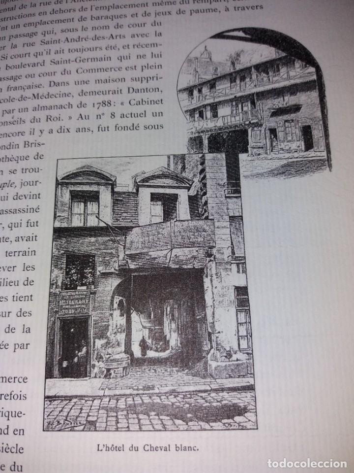 Libros: EXTRAORDINARIO Y BELLO LIBRO SOBRE EL PARIS DEL SIGLO XIX AÑOS 70´S - Foto 141 - 242225945
