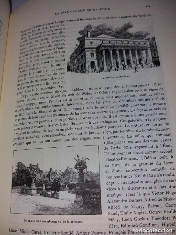 Libros: EXTRAORDINARIO Y BELLO LIBRO SOBRE EL PARIS DEL SIGLO XIX AÑOS 70´S - Foto 148 - 242225945