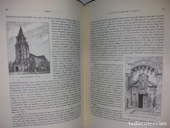 Libros: EXTRAORDINARIO Y BELLO LIBRO SOBRE EL PARIS DEL SIGLO XIX AÑOS 70´S - Foto 155 - 242225945