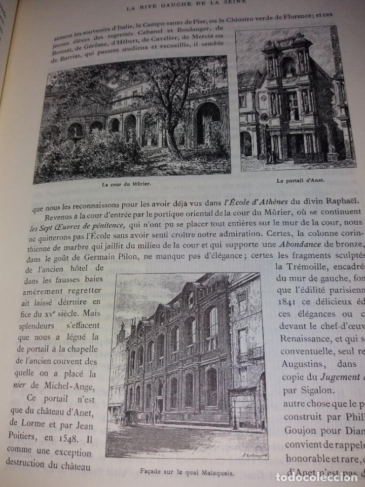 Libros: EXTRAORDINARIO Y BELLO LIBRO SOBRE EL PARIS DEL SIGLO XIX AÑOS 70´S - Foto 158 - 242225945