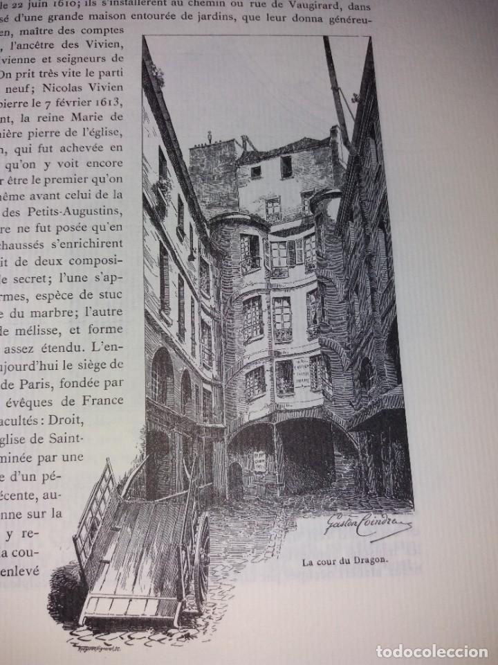 Libros: EXTRAORDINARIO Y BELLO LIBRO SOBRE EL PARIS DEL SIGLO XIX AÑOS 70´S - Foto 160 - 242225945