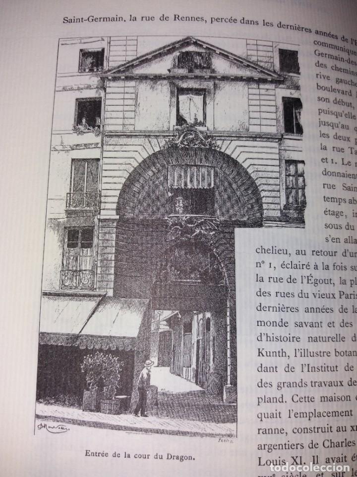 Libros: EXTRAORDINARIO Y BELLO LIBRO SOBRE EL PARIS DEL SIGLO XIX AÑOS 70´S - Foto 161 - 242225945