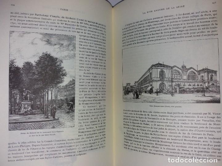Libros: EXTRAORDINARIO Y BELLO LIBRO SOBRE EL PARIS DEL SIGLO XIX AÑOS 70´S - Foto 162 - 242225945