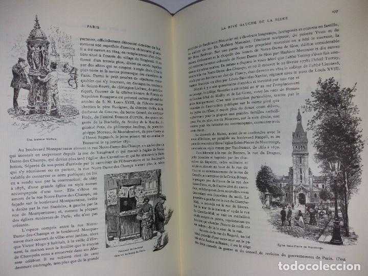 Libros: EXTRAORDINARIO Y BELLO LIBRO SOBRE EL PARIS DEL SIGLO XIX AÑOS 70´S - Foto 163 - 242225945
