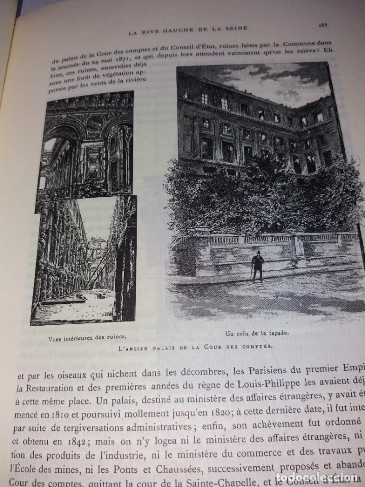 Libros: EXTRAORDINARIO Y BELLO LIBRO SOBRE EL PARIS DEL SIGLO XIX AÑOS 70´S - Foto 166 - 242225945