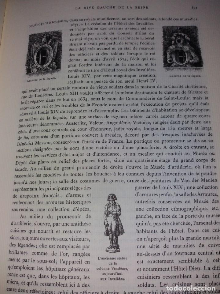 Libros: EXTRAORDINARIO Y BELLO LIBRO SOBRE EL PARIS DEL SIGLO XIX AÑOS 70´S - Foto 172 - 242225945