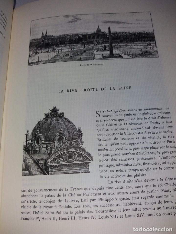 Libros: EXTRAORDINARIO Y BELLO LIBRO SOBRE EL PARIS DEL SIGLO XIX AÑOS 70´S - Foto 179 - 242225945