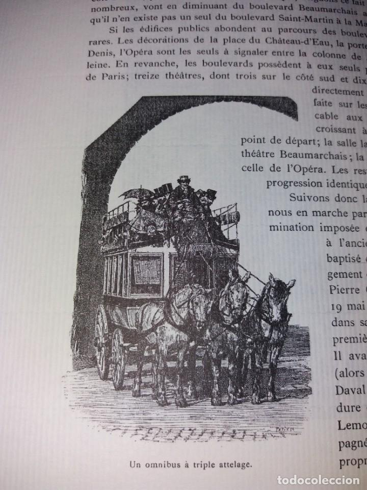 Libros: EXTRAORDINARIO Y BELLO LIBRO SOBRE EL PARIS DEL SIGLO XIX AÑOS 70´S - Foto 183 - 242225945