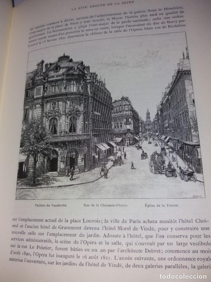 Libros: EXTRAORDINARIO Y BELLO LIBRO SOBRE EL PARIS DEL SIGLO XIX AÑOS 70´S - Foto 192 - 242225945