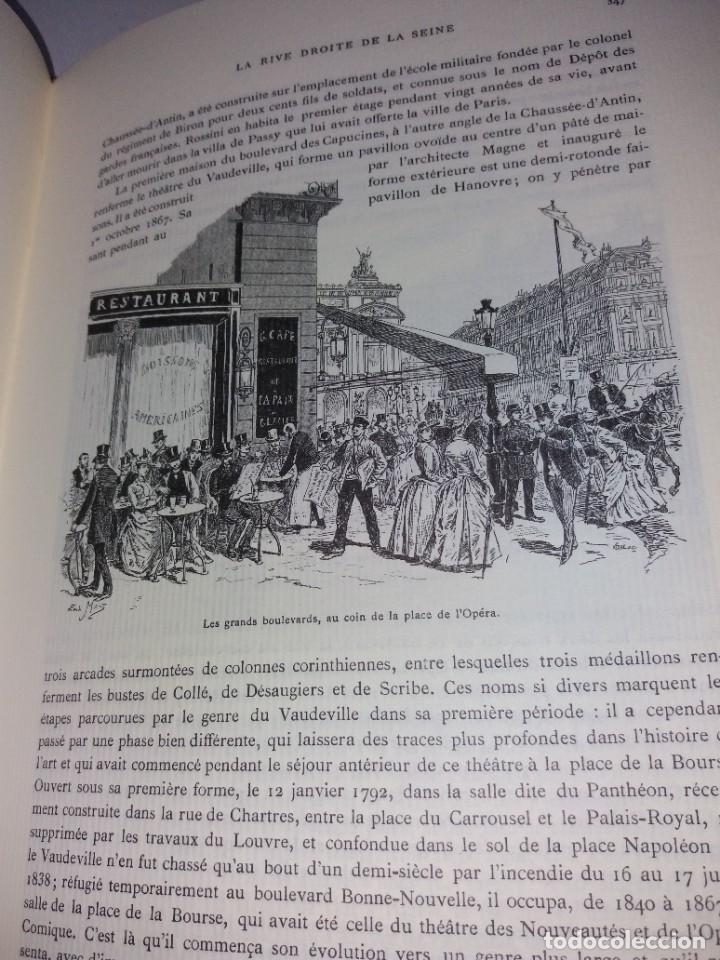 Libros: EXTRAORDINARIO Y BELLO LIBRO SOBRE EL PARIS DEL SIGLO XIX AÑOS 70´S - Foto 193 - 242225945