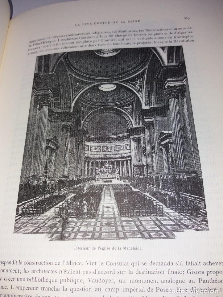 Libros: EXTRAORDINARIO Y BELLO LIBRO SOBRE EL PARIS DEL SIGLO XIX AÑOS 70´S - Foto 200 - 242225945