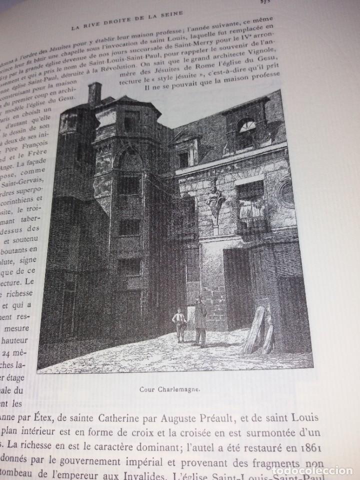 Libros: EXTRAORDINARIO Y BELLO LIBRO SOBRE EL PARIS DEL SIGLO XIX AÑOS 70´S - Foto 207 - 242225945