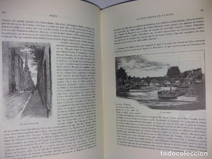 Libros: EXTRAORDINARIO Y BELLO LIBRO SOBRE EL PARIS DEL SIGLO XIX AÑOS 70´S - Foto 212 - 242225945