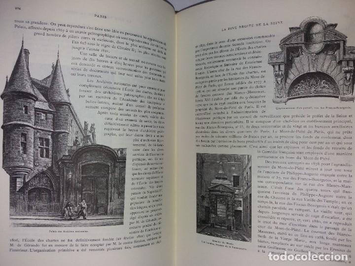Libros: EXTRAORDINARIO Y BELLO LIBRO SOBRE EL PARIS DEL SIGLO XIX AÑOS 70´S - Foto 220 - 242225945