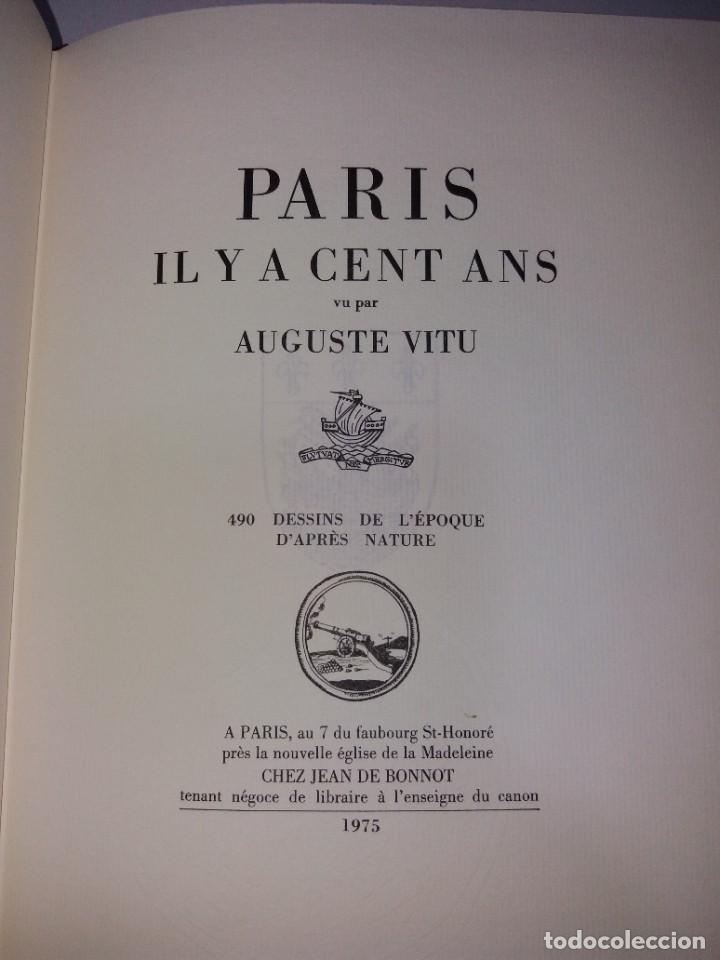 Libros: EXTRAORDINARIO Y BELLO LIBRO SOBRE EL PARIS DEL SIGLO XIX AÑOS 70´S - Foto 254 - 242225945
