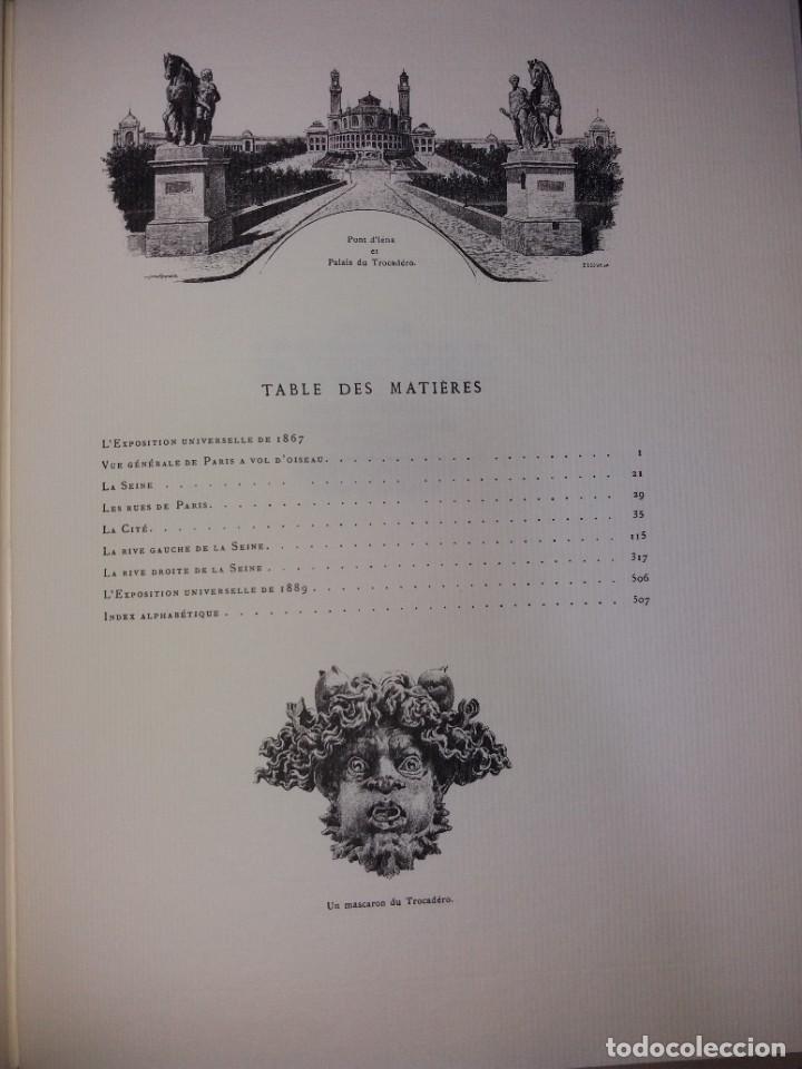 Libros: EXTRAORDINARIO Y BELLO LIBRO SOBRE EL PARIS DEL SIGLO XIX AÑOS 70´S - Foto 255 - 242225945