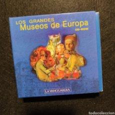 Libros: LOS GRANDES MUSEOS DE EUROPA LA VANGUARDIA 12+1 EXTRA CDS LOUVRE PRADO ERMITAGE ORSAY NATIONAL GALLE. Lote 243621225