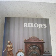 Libros: TRATADO DE RELOJES 271 PÁGINAS CON DESCRIPCIÓN Y FOTOGRAFÍAS. Lote 243772405