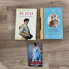 Libros: LIBROS DE TOROS. Lote 244624655