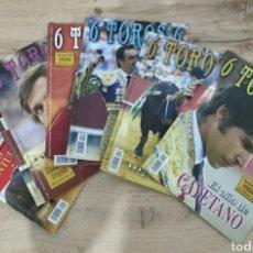 Libros: LOTE DE REVISTAS 6 TOROS 6. Lote 244624770