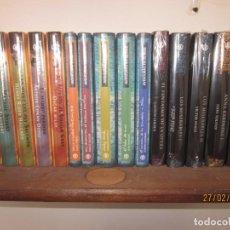 Libros: LOTE DE 15 LIBROS LITERATURA Y CINES,LOS GRANDES MUSICALES EN LITERATURA Y AVENTURAS EN EL MAR. Lote 244751790