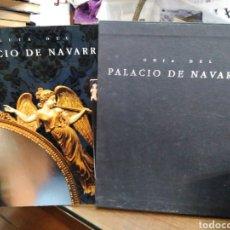 Libros: GUÍA DEL PALACIO DE NAVARRA-EDITA GOBIERNO DE NAVARRA-1991 ILUSTRADO PROFUNDAMENTE CON CAJETIN. Lote 245415570