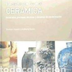 Libros: GUÍA COMPLETA DEL TALLER DE CERÁMICA. Lote 245923420