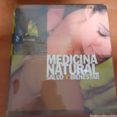 Libros: MEDICINA NATURAL EL MASAJE. Lote 248565320