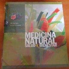 Libros: MEDICINA NATURAL ALIMENTACIÓN Y COCINA SANA. Lote 248567495