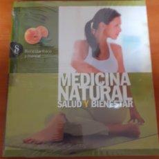 Libros: MEDICINA NATURAL BIENESTAR FÍSICO Y MENTAL. Lote 248567990
