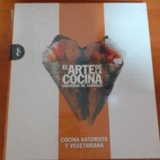 Libros: EL ARTE DE LA COCINA COCINA NATURAL Y VEGETARIANA. Lote 248587080
