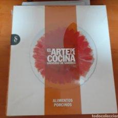 Libros: EL ARTE DE LA COCINA ALIMENTOS PORCINO. Lote 248588275