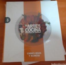 Libros: EL ARTE DE LA COCINA CARNES ROJAS Y BLANCAS. Lote 248589125